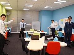 仙台の教室内自習用フリースペース