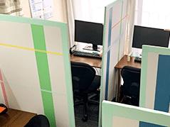 新宿の教室内自習用フリースペース