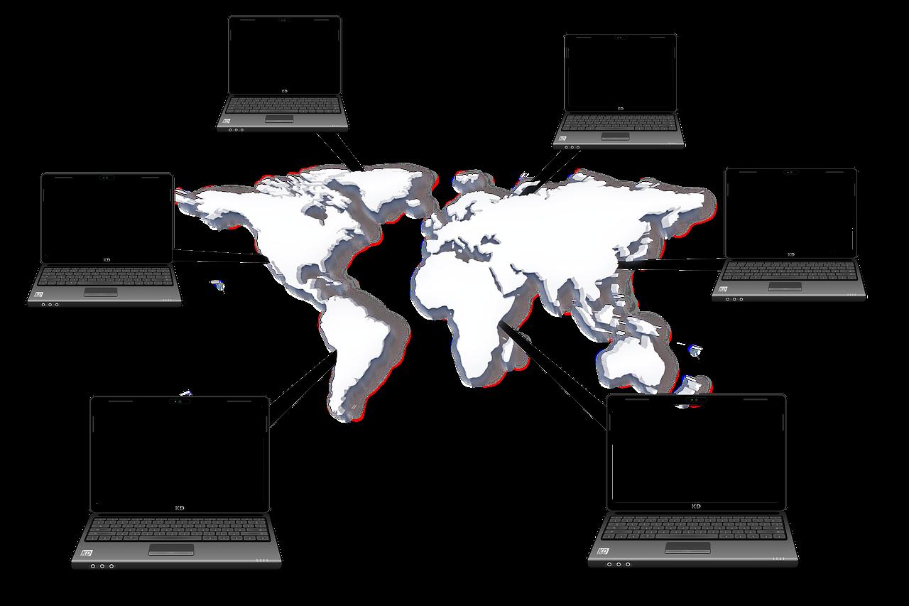 パソコンを使ったネットワーク