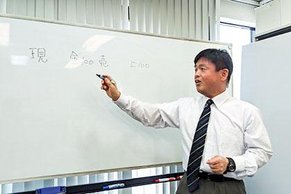 わかりやすさをモットーに講義を行います。